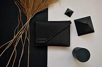 Kabelky - Kožená kabelka PS stredná černá - 12819973_