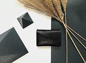 Peňaženky - Peňaženka X mini Čierna - 12820471_