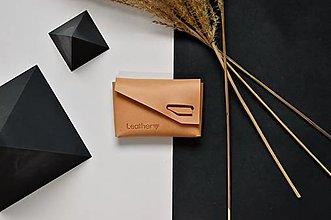 Peňaženky - Peňaženka X mini Prírodná - 12820512_