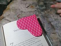 Papiernictvo - Srdce ♥ pre knihu... - 12824419_