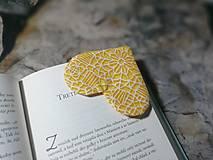 Papiernictvo - Srdce ♥ pre knihu... - 12824434_