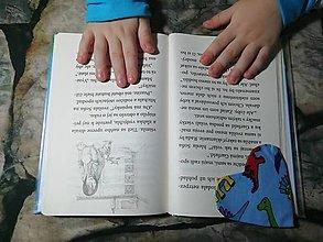 Papiernictvo - Srdce ♥ pre knihu... - 12824433_