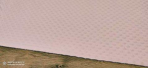 Textil - Baby Minki - cena za 10 cm (Ružová svetlá) - 12824449_