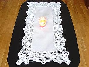 Úžitkový textil - háčkovaný obrus - 12822586_