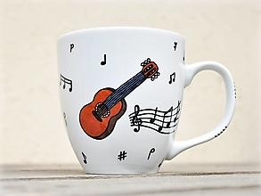 Nádoby - Hrnček pre hudobníka/učiteľa hudby (gitara) - 12824050_