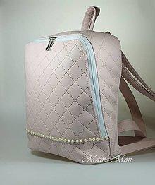 Batohy - Veronika - dámsky ruksak - pudrovo ružový - 12823983_