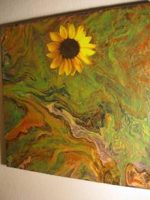 Obrazy - Zas rozkvitnú slnečnice - 12824178_
