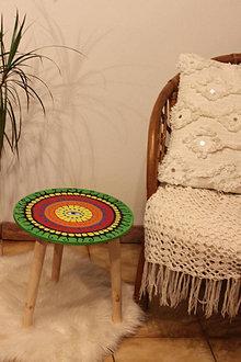 Nábytok - Drevený servírovací stolík v  Bohoštýle - 12825003_