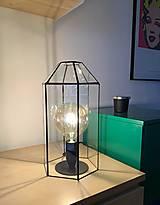 Svietidlá a sviečky - Vitrážne svietidlo - 12826734_