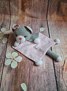 Hračky - Mojkačik mačička Miciky - 12830844_