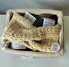 Ozdoby do vlasov - Čelenka- z farmárskej, ručne pradenej ovčej vny - 12829052_
