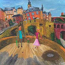 Obrazy - Poklad Luxemburgu - 12830924_