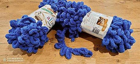 Galantéria - Alize Puffy  (141 kráľovská modrá) - 12830225_