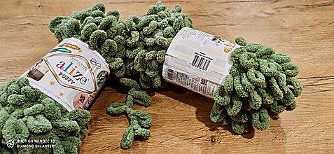 Galantéria - Alize Puffy  (485 zelená) - 12830263_