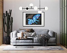 """Obrazy - Abstraktný akvarelový obraz """"Slobodu krídlam"""" - 12827753_"""