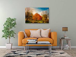 Obrazy - POD JESENNOU OBLOHOU fotoplátno 60x40 cm - 12829064_