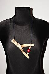 """Náhrdelníky - náhrdelník """"vyplavený"""" IV - 12828776_"""