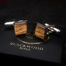 Iné šperky - strieborné manžety Whiskey - 12829648_