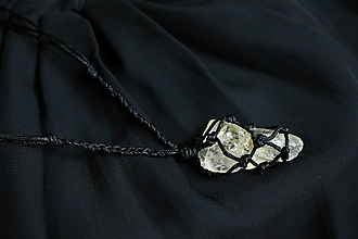 Náhrdelníky - Náhrdelník Citrín II - 12829555_