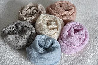 Textil - Newborn wrapy z česanej alpaky a hodvábu na fotenie novorodeniatok - 12829184_