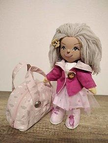 Hračky - bábika- cestovateľka Ruženka s kufríkom plným šiat. Zľava zo 101 € na 80 €. - 12831216_