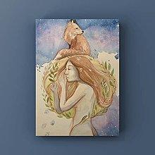 Obrazy - Originálna maľba-Ochranca mojích snov - 12828386_