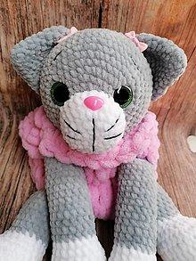 Hračky - Pyžamožrut mačka v šedej farbe - 12833080_