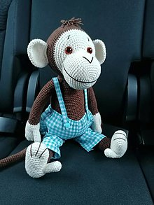 Hračky - Opica z mojej dielňe - 12833315_