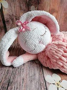 Hračky - Pyžamožrut Zajko ružové uško - 12833408_