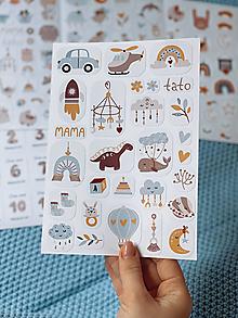 Papiernictvo - Detské nálepky 1 - 12832130_