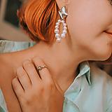 Náušnice - perlové náušnice - shell perly - 12831876_