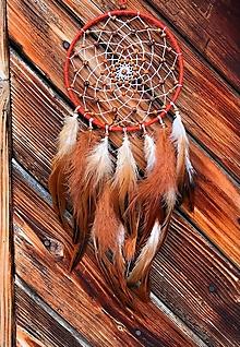 Dekorácie - Lapač snov Hrdzavá líška  - 12833551_