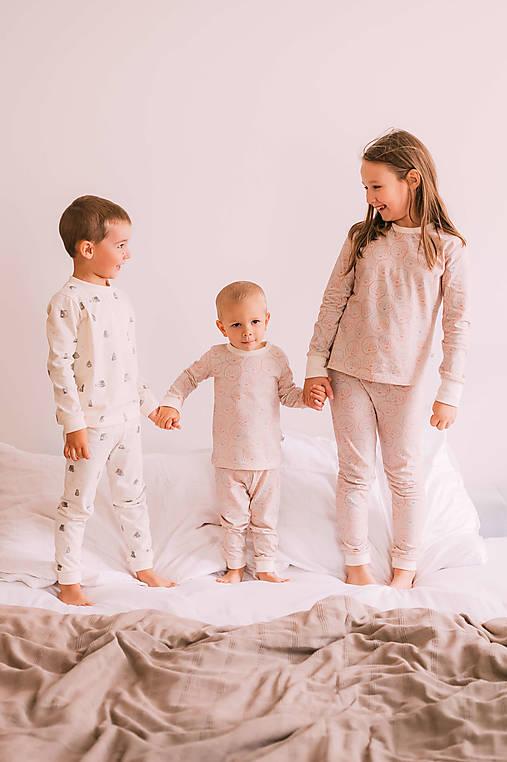Detské oblečenie - Detské pyžamo – happy day - 12831735_