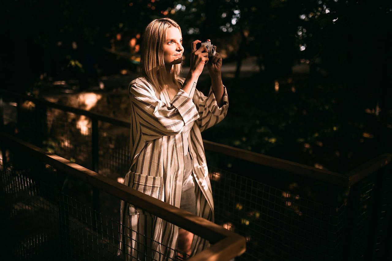 Dlhé dámske kimono ASTRID