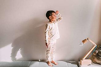 Detské oblečenie - Detské pyžamo – happy home - 12831836_