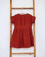Detské oblečenie - VÝPREDAJ Detské mušelínové oversized šaty - 12834640_