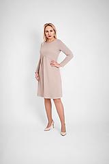 Šaty - Úpletové šaty s protizáhybom - 12834465_