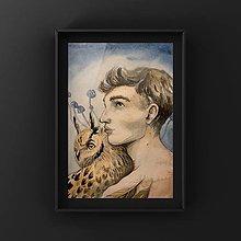 Obrazy - Originálna maľba-Súznenie - 12834180_
