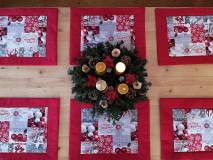 Úžitkový textil - Vianočné prestieranie - 12836437_