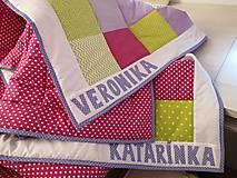 Úžitkový textil - Patchwork súprava Fresh - 12836717_