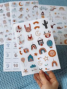 Papiernictvo - Detské nálepky 2 - 12836618_