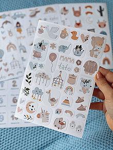 Papiernictvo - Detské nálepky 3 - 12837551_