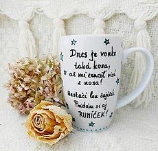 Nádoby - Hrnček ,,čaj s rumom,, - 12837789_
