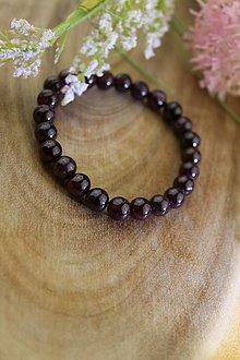 Náramky - Granát náramok (prírodný granát) - 12836728_