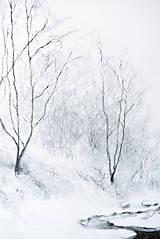 Kresby - Biela zima - 12839359_