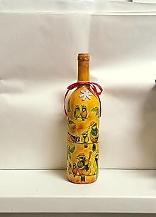 Nádoby - fľaša sýkorky - 12839856_