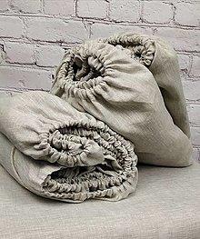 Úžitkový textil - Napínacia plachta 100% ľan - 12836846_