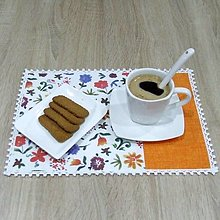 Úžitkový textil - DANA - prestieranie oranžové 25x35 - 12836181_