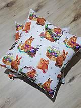 Úžitkový textil - Dekoračné Veľkonočné obliečky na vankúše - 12837608_