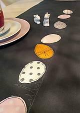 """Úžitkový textil - Veľkonočný obrus """"Vajíčka"""" - 12839266_"""